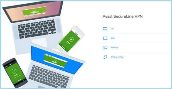avast secureline vpn multiple devices