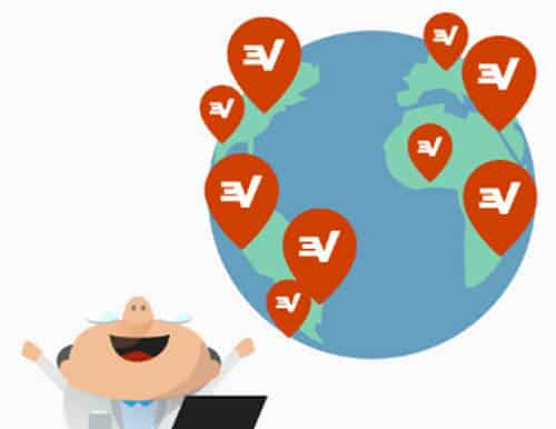 express vpn server locations vector
