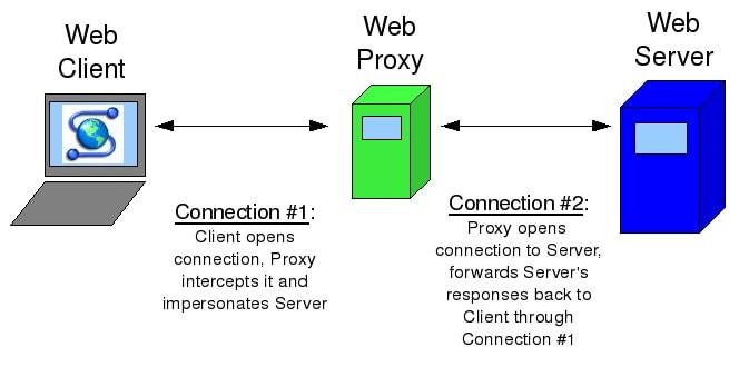 how proxy works