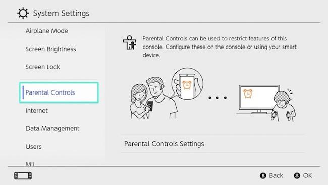 Parental Control Management