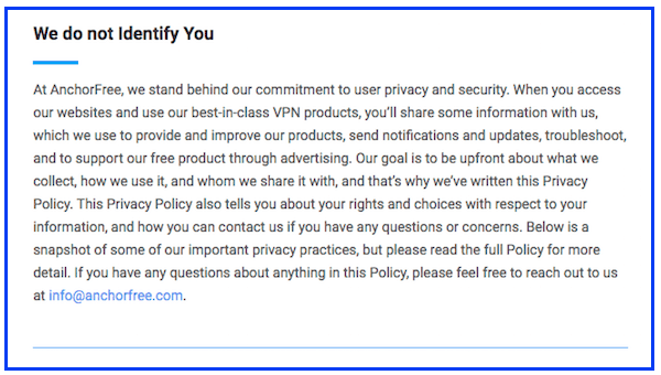 betternet privacy