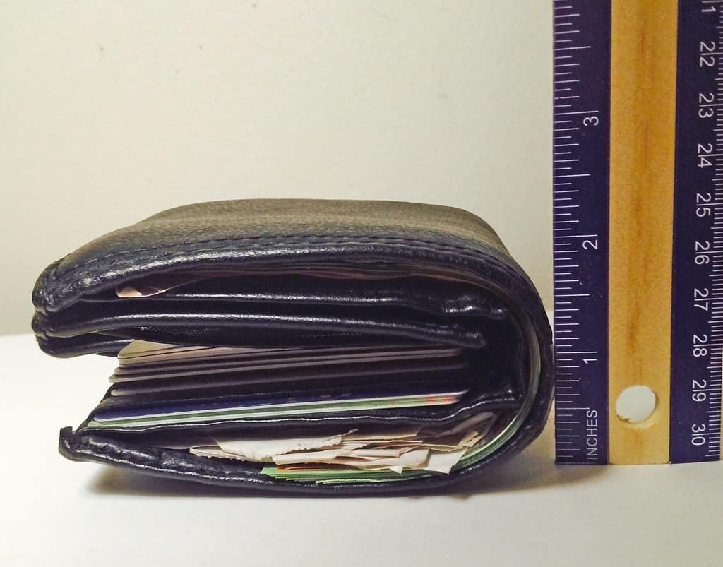 image showing credit card wallet