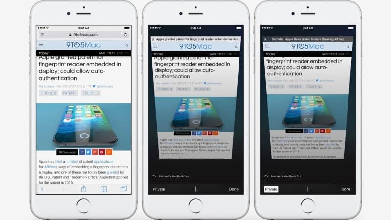 ios safari private browsing