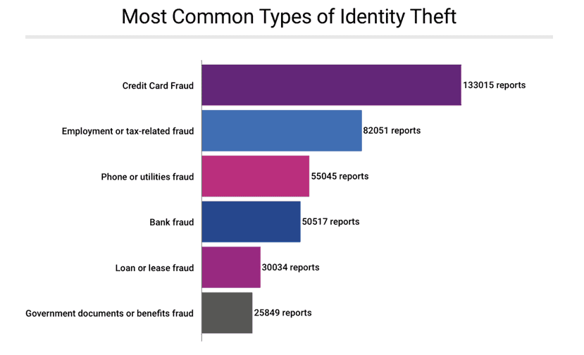 Most-common types-of-identity-fraud