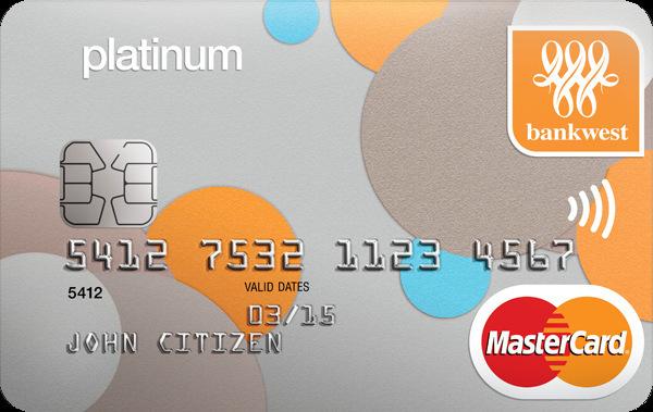 Bankwest Zero Platinum Mastercard