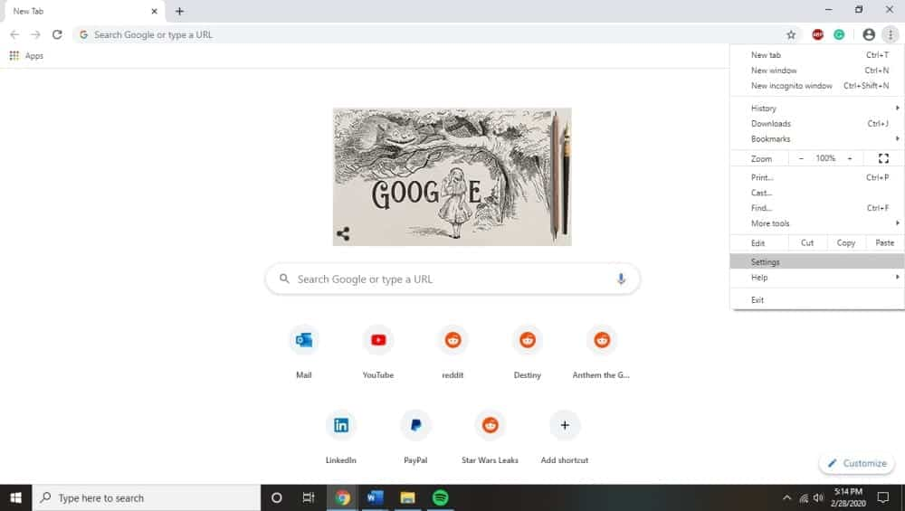 How to Access Google Chrome Service