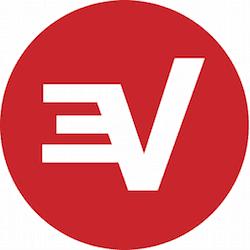 Round ExpressVPN Logo