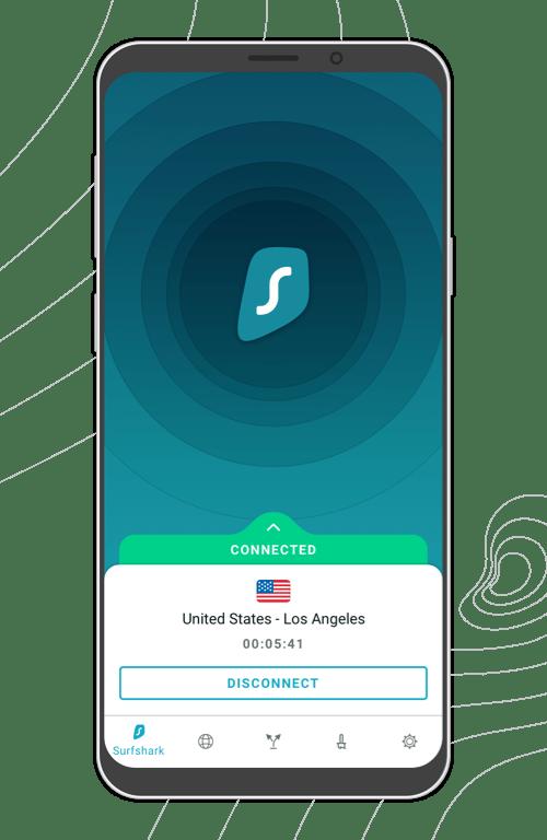 SurfShark App Interface