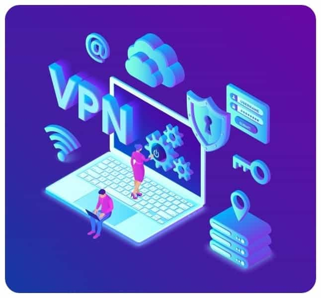 VPN Vector image