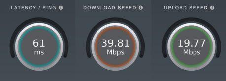 Windscribe Free VPN Service Speed test