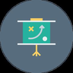 performance loop graph icon